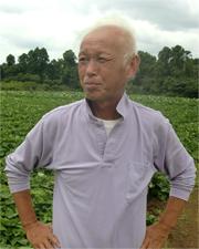 加瀬農園園主/加瀬嘉男さん