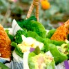 春野菜いっぱい☆お花見ロール